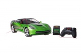 NEW BRIGHT R/C auto Corvette C7 1:8 zelené