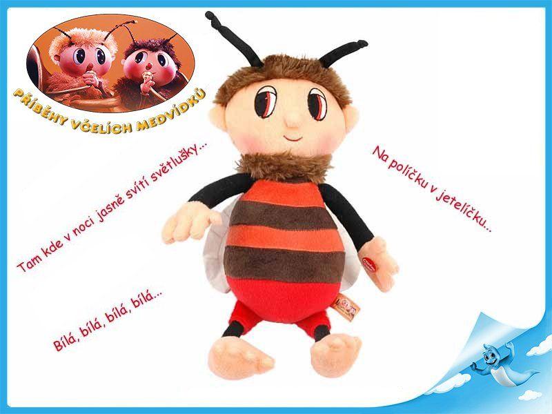 Mikro Trading BRUMDA Včelí medvídek česky zpívající 29 cm