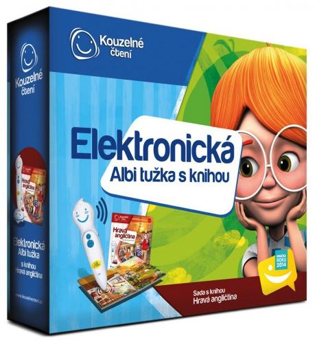Albi Elektronická tužka s knihou Hravá angličtina