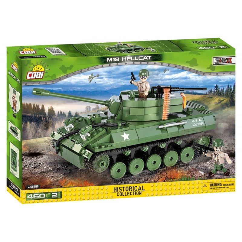 Cobi 2389 SMALL ARMY II WW M18 Hellcat, 460 k, 2 f