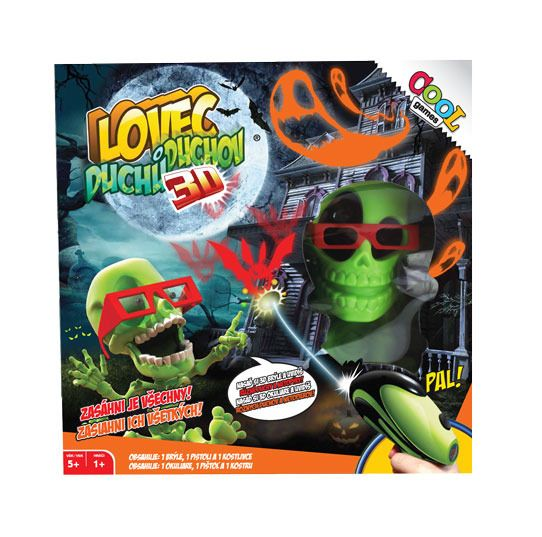 Cool Games Lovec Duchů 3D EP Line