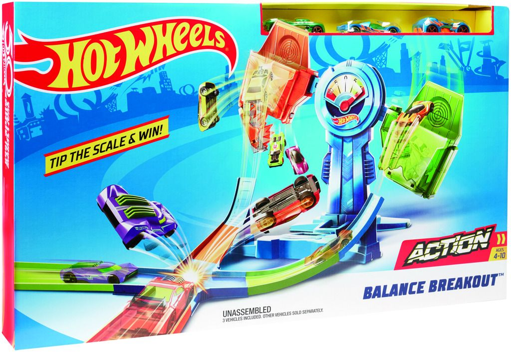 Hot Wheels zrádné váhy Mattel