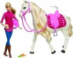 Mattel Barbie Dream Horse Kůň snů s panenkou FRV36