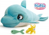 Mikro Trading Delfín Blu Blu 60cm plyšový na baterie se zvukem