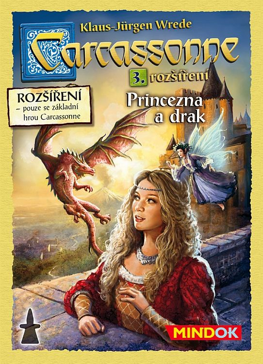 Mindok Carcassonne: Princezna a drak