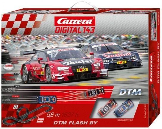 Autodráha Carrera D143 DTM Flash By Závodní dráha 40035