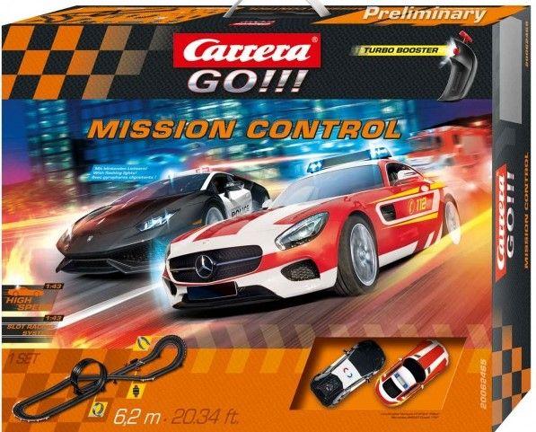 Autodráha Carrera GO 62465 Mission Control