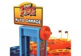 BBurago STREET FIRE auto garáž hrací set + 2 ks auto (1:43)