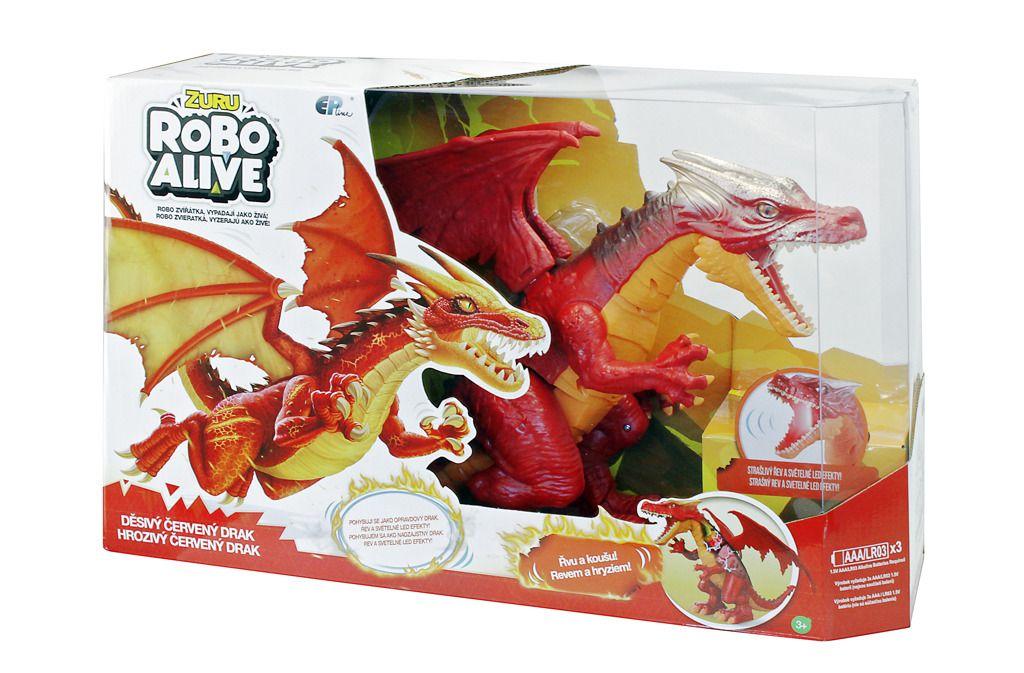 EP line Robo Alive Drak červený All Toys