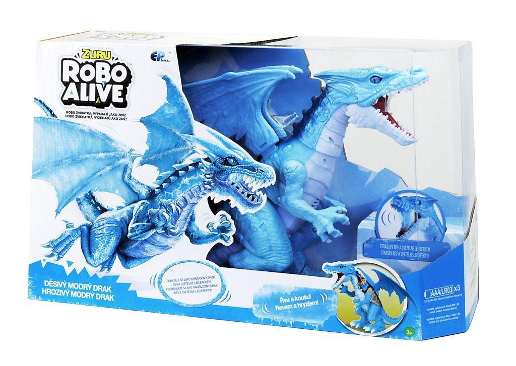 EP line Robo Alive Drak modrý All Toys