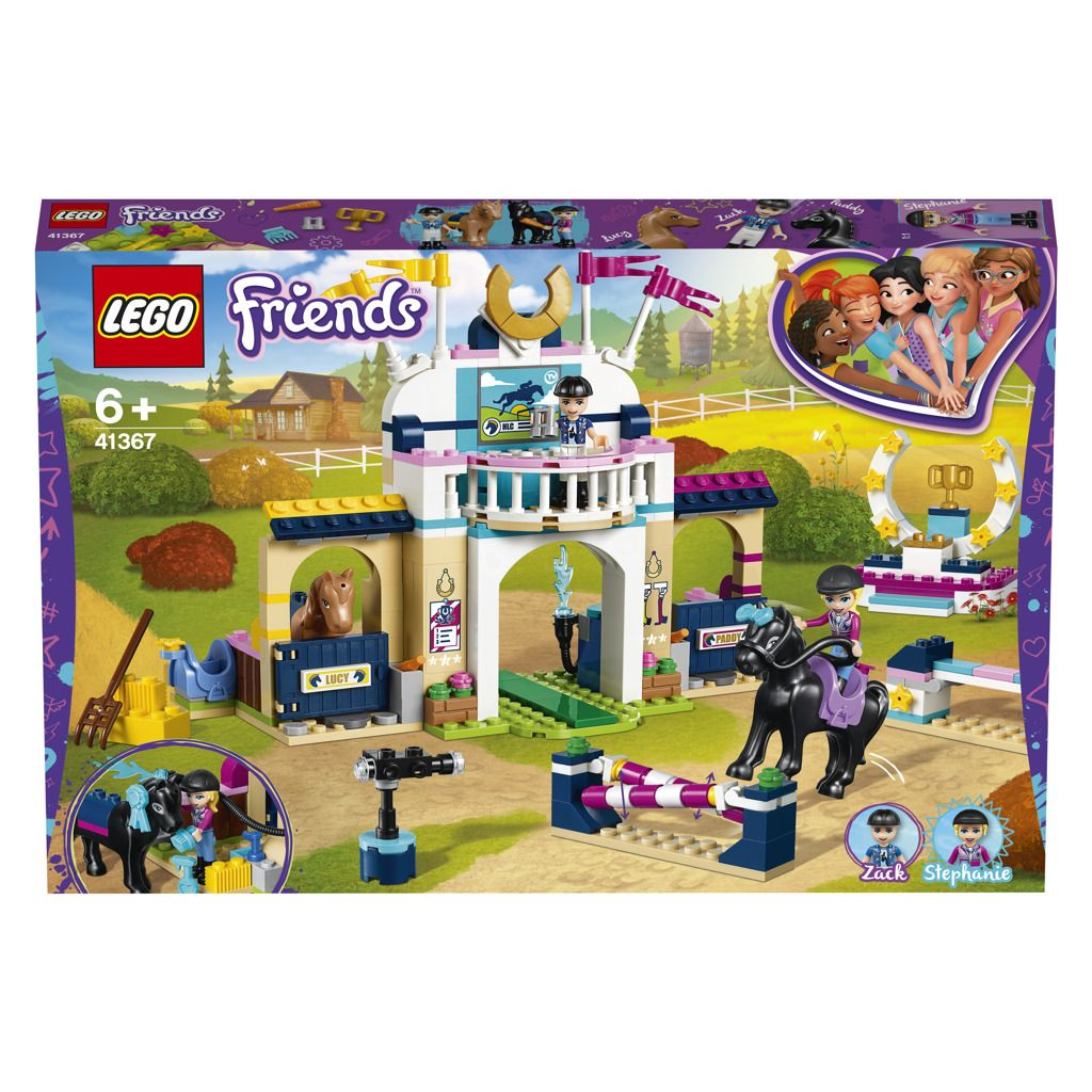 LEGO Friends 41367 Stephanie a parkurové skákání