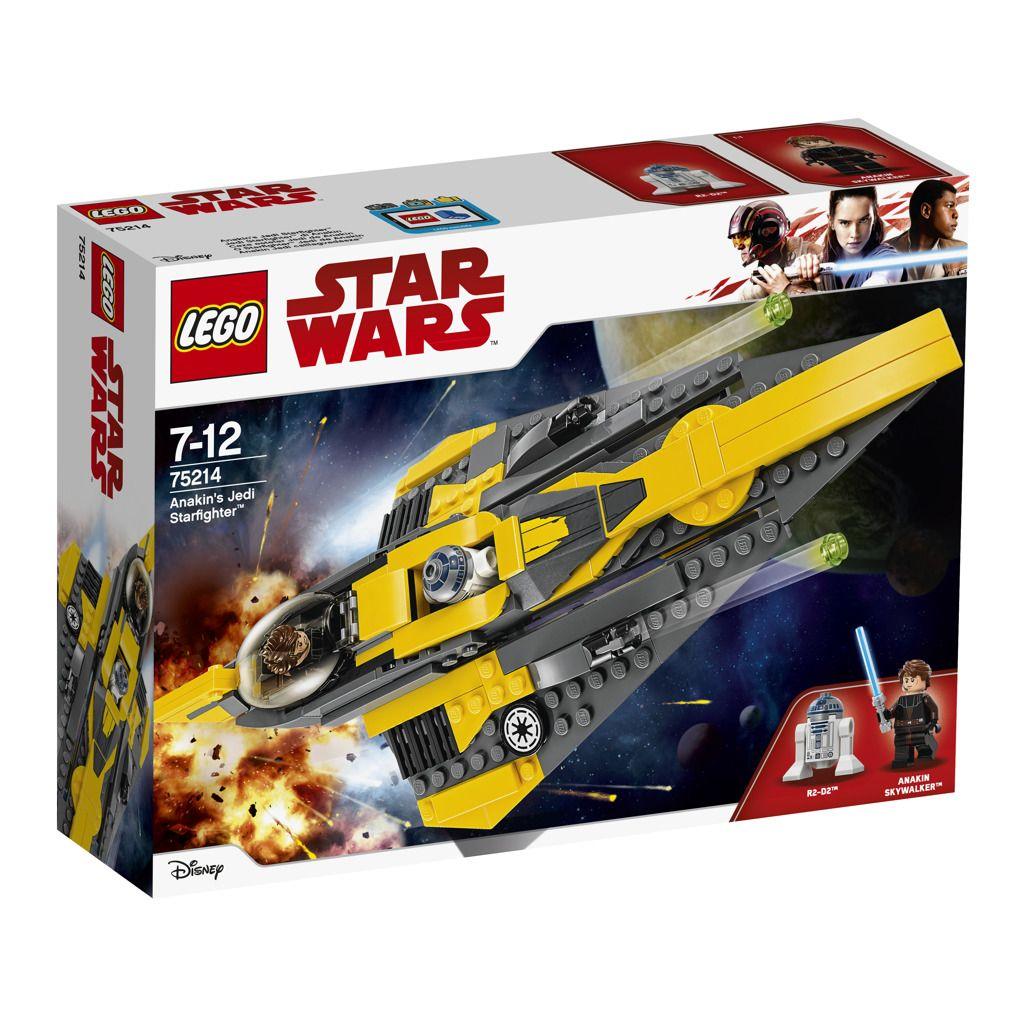Lego Star Wars 75214 Anakinův jediský Starfighter