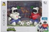 MaDe RC HRA Robofotbal set 2 roboti s míči a brankami na vysílačku USB Světlo Zvuk