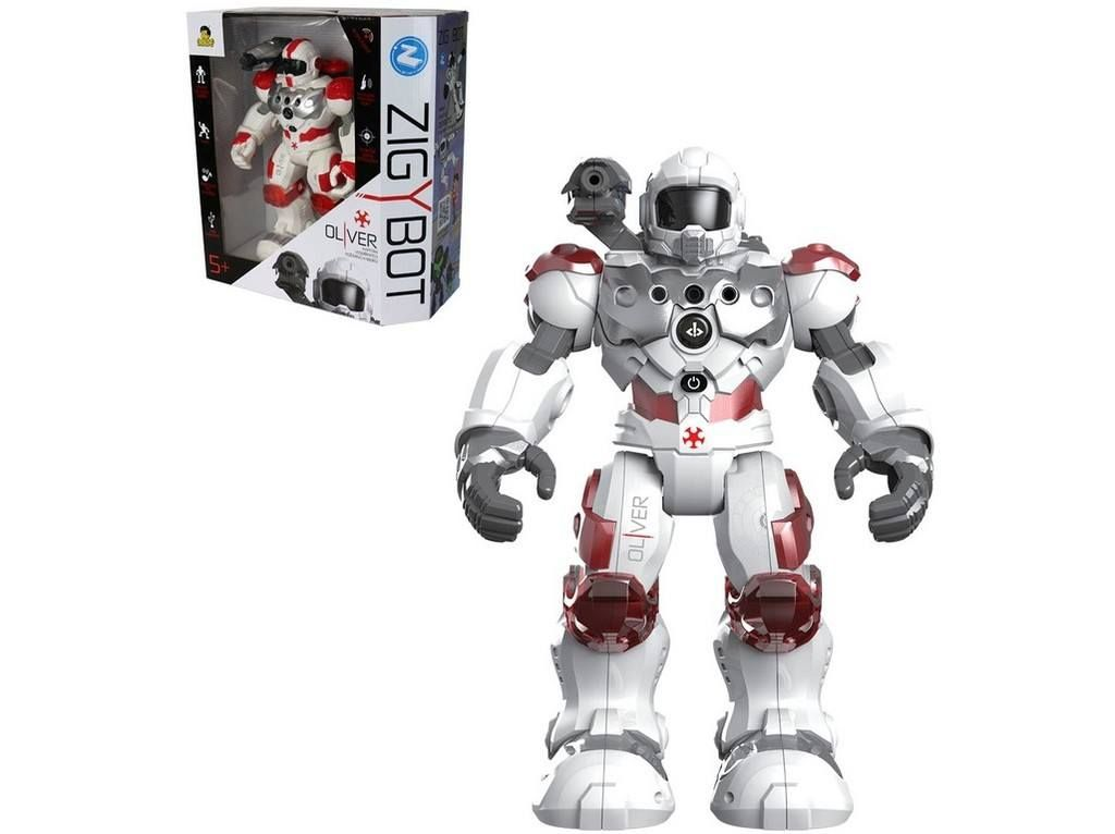 MaDe Robot hasič Oliver na IR dálkové ovládání