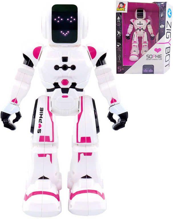 MaDe RobotkaZigybot SOPHIE - robotická kamarádka Zigyho, 27 cm