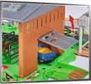 Majorette Creatix Stáj s traktorem - Sada zemědělských modelů, figurek a stáj - 40 prvků
