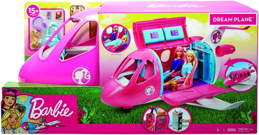 Mattel Barbie Letadlo snů GDG76