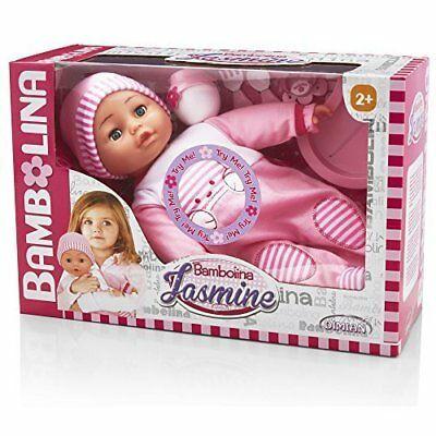 Panenka Bambolina miminko Jasmine s 50 českými slovy 40cm All Toys